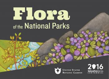 Flora of the National Parks exhibit logo
