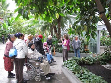 accessibility at the USBG