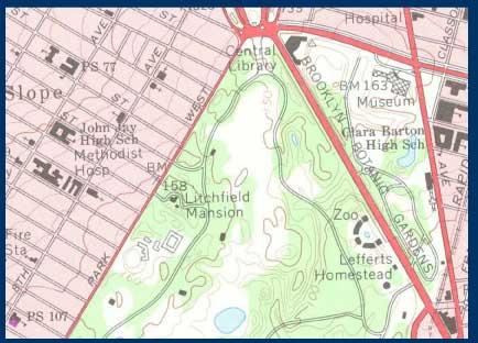 Topographic Maps United States Botanic Garden - Us botanic garden map