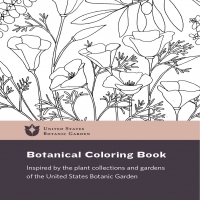 USBG coloring book - color our plants
